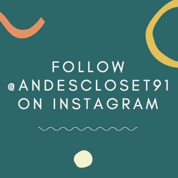 Follow along on Instagram!